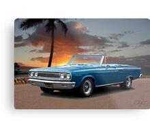 1965 Dodge Coronet 440 Convertible Metal Print