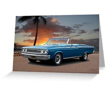 1965 Dodge Coronet 440 Convertible Greeting Card