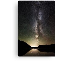 The Milky Way. Canvas Print