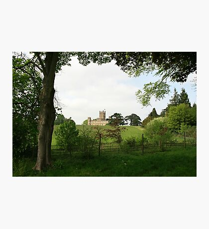 Rolling hills towards Downton Abbey Photographic Print