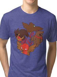 The Robin Circle!  Tri-blend T-Shirt