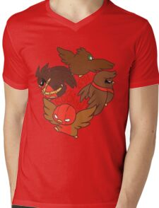 The Robin Circle!  Mens V-Neck T-Shirt