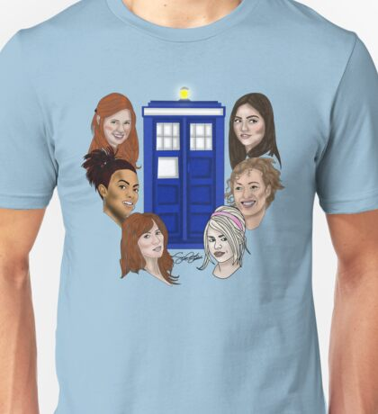 Ladies Of The TARDIS Unisex T-Shirt