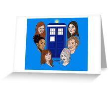 Ladies Of The TARDIS Greeting Card