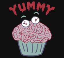 Brain Cupcake For Zombies  by ArtVixen
