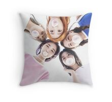 TWICE bubblegum Throw Pillow