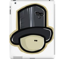 Hat Man And Hatty The Hat iPad Case/Skin
