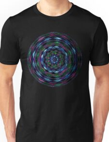 Stained Glass Mosaic Pattern Unisex T-Shirt