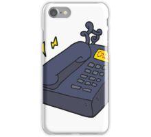 cartoon office telephone iPhone Case/Skin