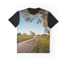 dirt road in rural Australia Graphic T-Shirt