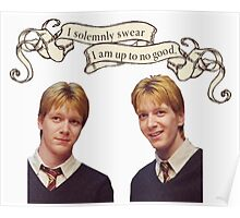 Weasley Twins Poster