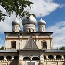 views of the  church Our lady in Veliky Novgorod by mrivserg