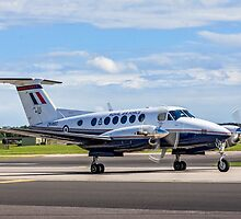 Beechcraft King Air B200GT ZK460/U SERCO/3FTS by Colin Smedley