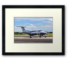 Beechcraft King Air B200GT ZK460/U SERCO/3FTS Framed Print