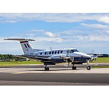 Beechcraft King Air B200GT ZK460/U SERCO/3FTS Photographic Print