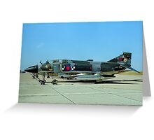 McDonnell F-4M Phantom FGR.2 XV438/A Greeting Card
