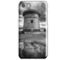The watchtower in El Campello after the rain iPhone Case/Skin