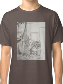 Kitty and I Classic T-Shirt