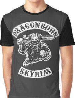Dragonborn's Sweetroll - White Graphic T-Shirt