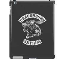 Dragonborn's Sweetroll - White iPad Case/Skin
