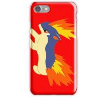Quilava (pokemon) iPhone Case/Skin