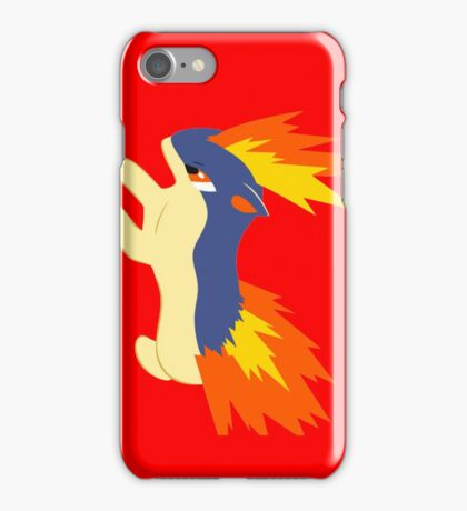 Quilava (pokemon) iPhone Case/Skin