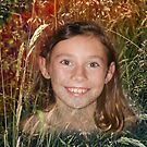 Tiany hiding in the weeds by Gilberte