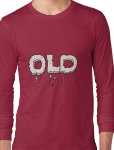 cartoon word old Long Sleeve T-Shirt