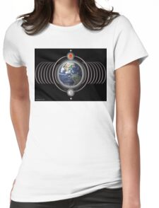 earth frequencies  Womens Fitted T-Shirt