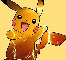 Pokémon - Pikachu (no backgroud) by alwaid