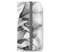 Soft Rose - Ink painting iPhone Wallet/Case/Skin