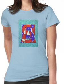 USA - PoP Womens Fitted T-Shirt