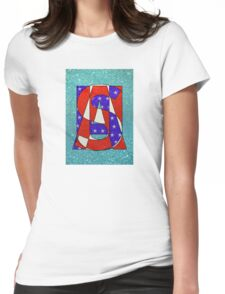 USA - PoP Womens Fitted T-Shirt