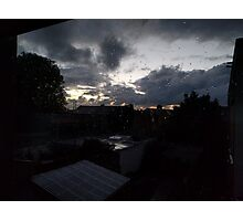 October Sky - Early in the morning Photographic Print