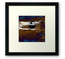 Samhain I. Winter Approaching  / abstract painting Framed Print