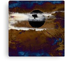 Samhain I. Winter Approaching  / abstract painting Canvas Print