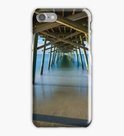 Beneath the Fishing Pier iPhone Case/Skin