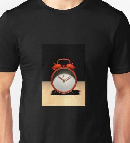 Despertador rojo Unisex T-Shirt