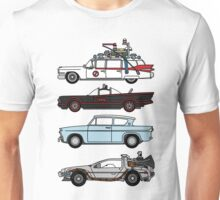 Iconic movie cars Unisex T-Shirt