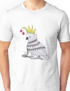 Christmas Cockatoo Unisex T-Shirt