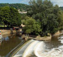 River Avon, Bath, England Sticker