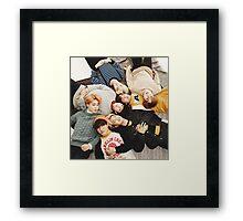 BANGTAN BOYS Framed Print
