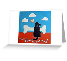 Looking for a Better Bone Greeting Card