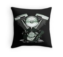 Harley Davidson Engine Throw Pillow