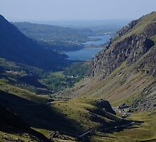 LLanberis Pass by Johindes