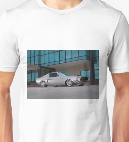 67 Ford Mustang Fastback Unisex T-Shirt