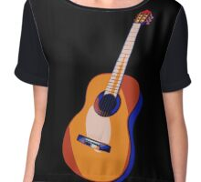 Guitar of Colors Chiffon Top