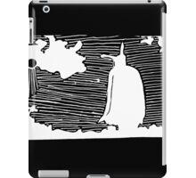 Feild White iPad Case/Skin