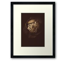 Some days need to start with Nutella Framed Print