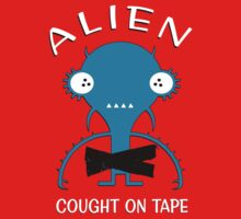 Alien Cought on Tape Kids Clothes